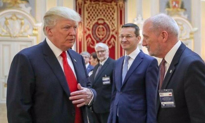 Macierewicz rozmawiał z Trumpem
