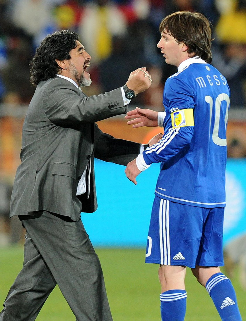 Soccer FIFA World Cup 2010 - Argentina Beats Nigeria 1-0