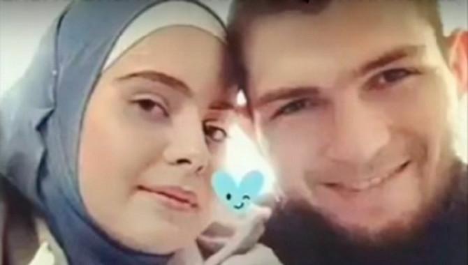 Habib Nurmagomedov  sa suprugom