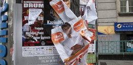 Wieszali plakaty i łamali ciszę wyborczą!