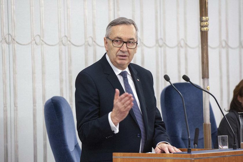 Wiceminister rodziny Stanisław Szwed