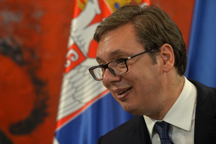 Aleksandar Vučić, predsednik Izraela Ruven Rivlin