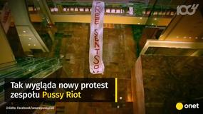 Pussy Riot protestują w Trump Tower