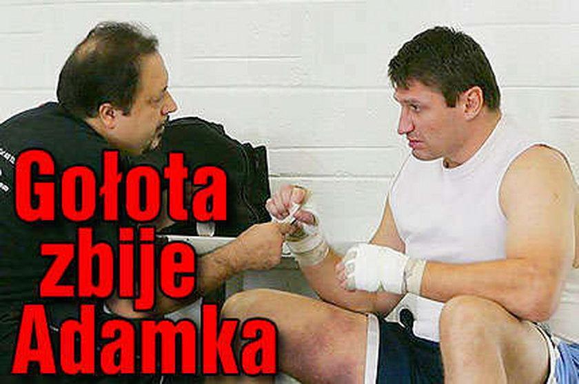Gołota straszy Adamka: Tomek bój się!