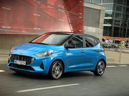 Hyundai i10 – kolekcjoner zalet