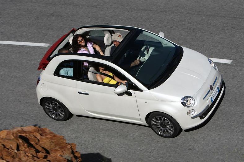 Fiat 500C - zdjęcie poglądowe