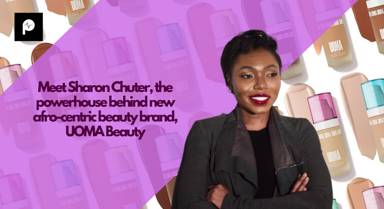 Meet Sharon Chuter, the powerhouse behind new afro-centric beauty brand, UOMA Beauty [Credit: Pulse]