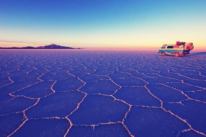 Salar de Uyuni, salt lake,