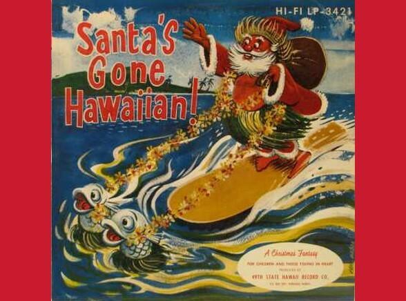 Mikołaj jedzie na Hawaje