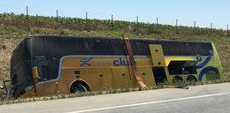 Wypadek polskiego autokaru. Zatrzymano kierowcę