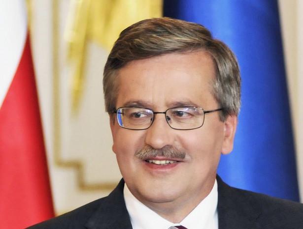 Na konto Bronisława Komorowskiego wpłynie prawie 15 tys. zł. A to dlatego, że prezydent rozliczał się wspólnie z małżonką, a ta w 2010 roku nie zarobiła ani grosza. Fot. Bloomberg