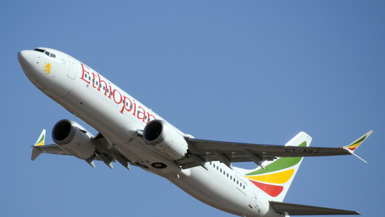 Ethiopian Airlines Flight ET302 was operated by a Boeing 737 Max 8 registration ET-AVJ.