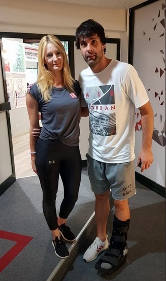 Miloš Teodosić dolazi na terapije