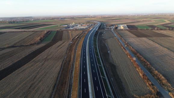 Najnovija fotografija autoputa Sručin-Obrenovac