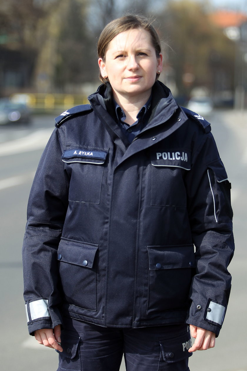 st. sierż. Agnieszka Żyłka, rzecznik KMP w Zabrzu