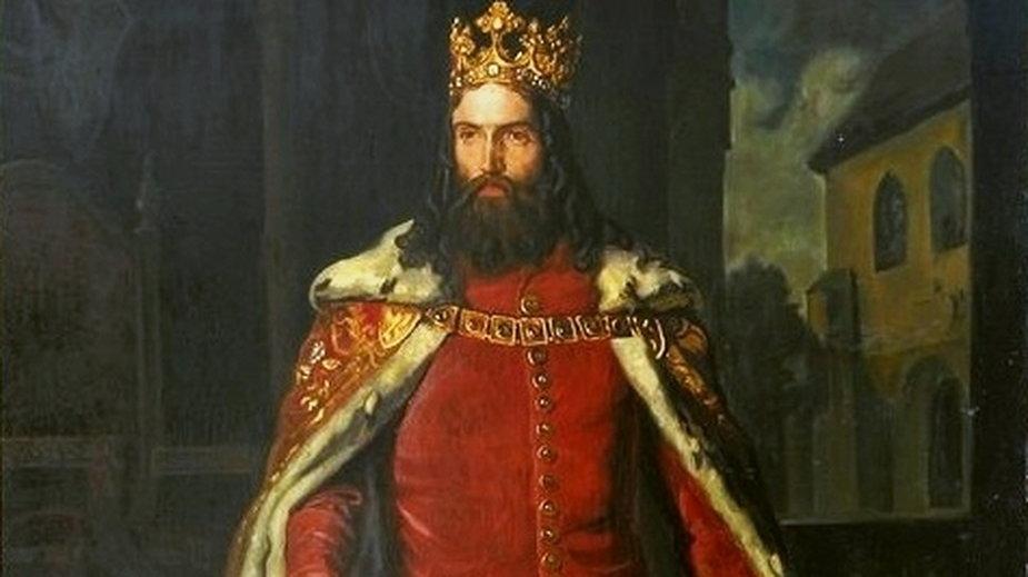 Kazimierz Wielki (obraz Leopolda Löfflera z 1864 r.)