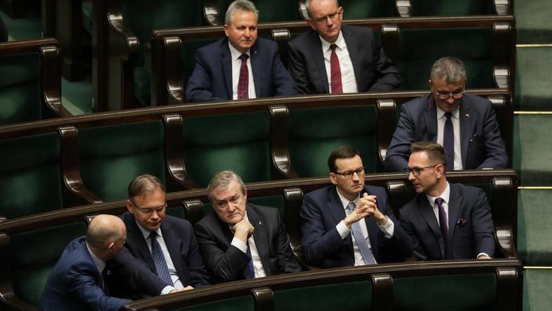 Poseł PiS Arkadiusz Mularczyk w Sejmie