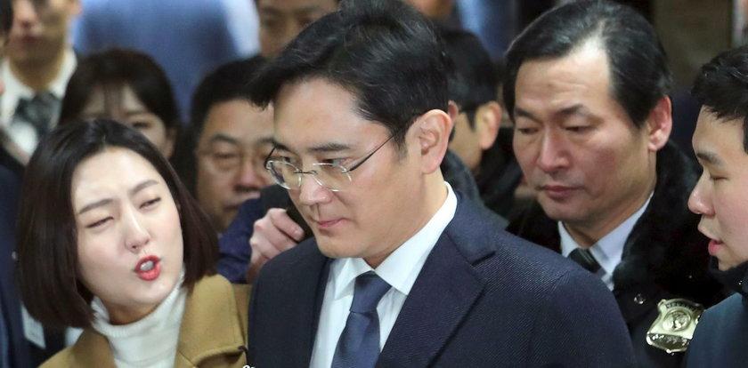 Wiceprezes Samsunga aresztowany za łapówkarstwo