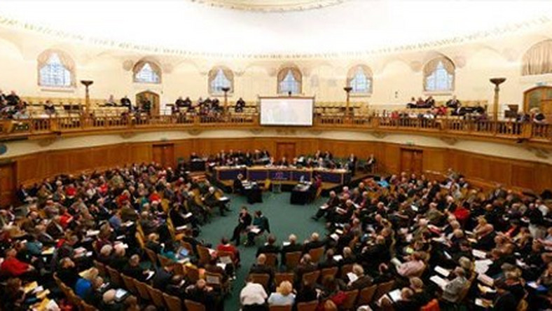 Church of England Synod meets at Church House in central London