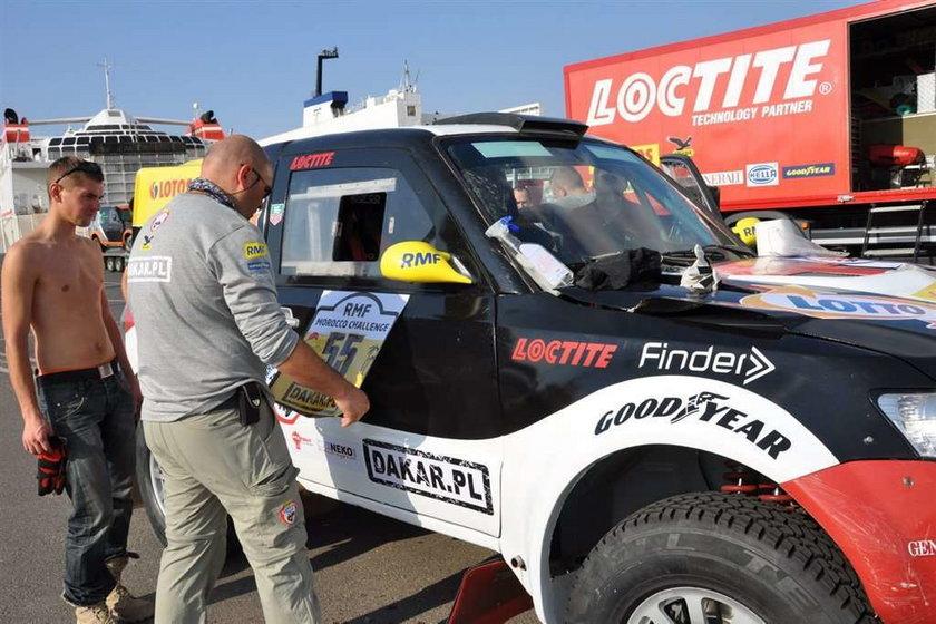 Ostatnia próba Małysza przed Dakarem