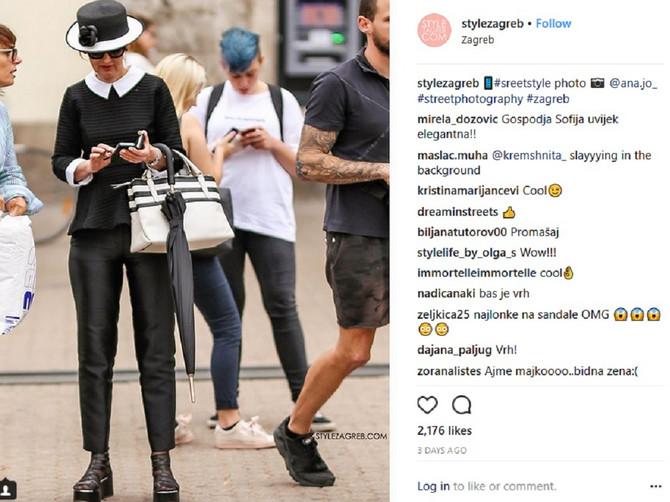 Prošetala Zagrebom u ovome i podelila komentare: Kako vi ocenjujete NJEN STAJLING?