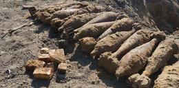 Saperzy wykopali 19 granatów i 3 kg trotylu