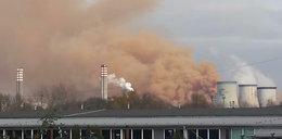 Toksyczna chmura nad Dąbrową Górniczą Huta wciąż truje mieszkańców