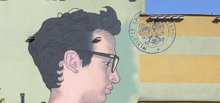 Ratował psa, pod którym załamał się lód. Jan Lityński ma swój mural