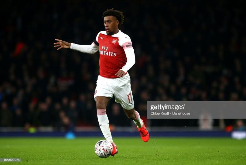 Alex Iwobi has been Arsenal's best dribbler so far this season (Getty Images)