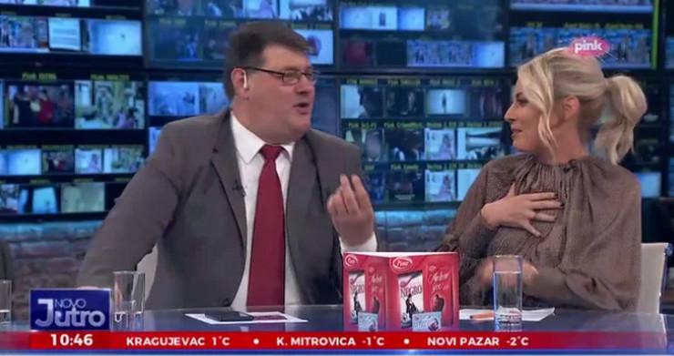 Dajana Paunović, Predrag Sarapa