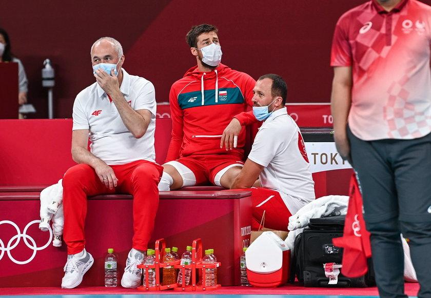Michał Kubiak (33 l.) nadal zmaga się z bólem pleców.