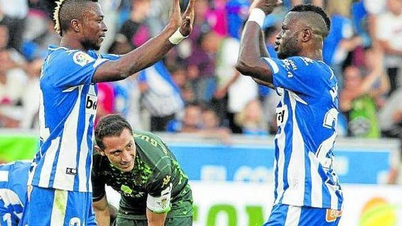 Ghanaian pair Wakaso, Twumasi shine in Deportivo Alavés' defeat to Espanyol