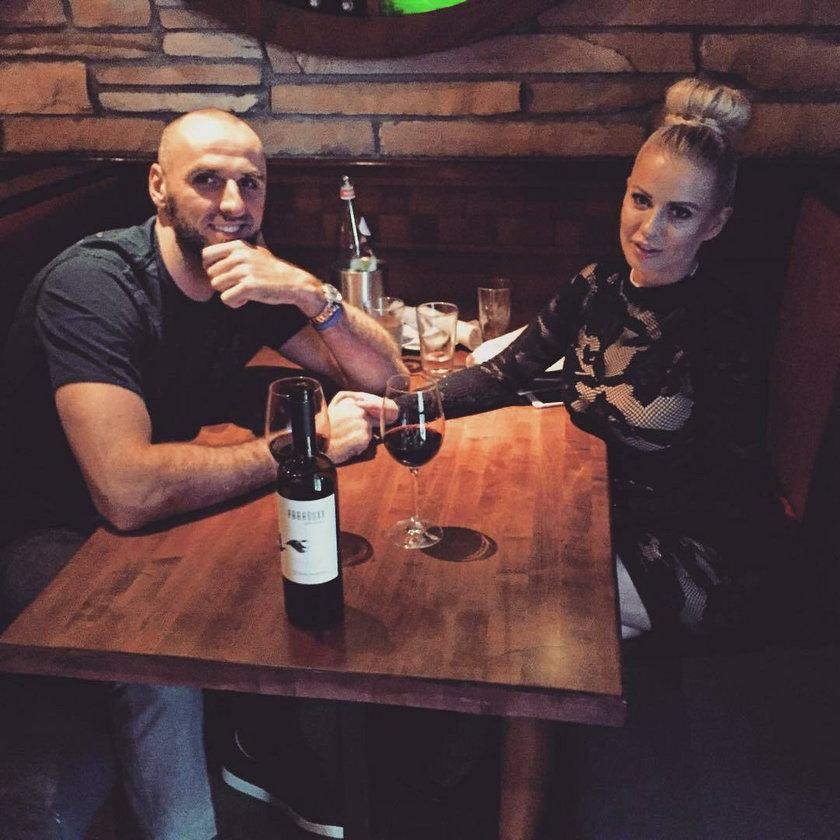 Marcin Gortat i Paula Tumala