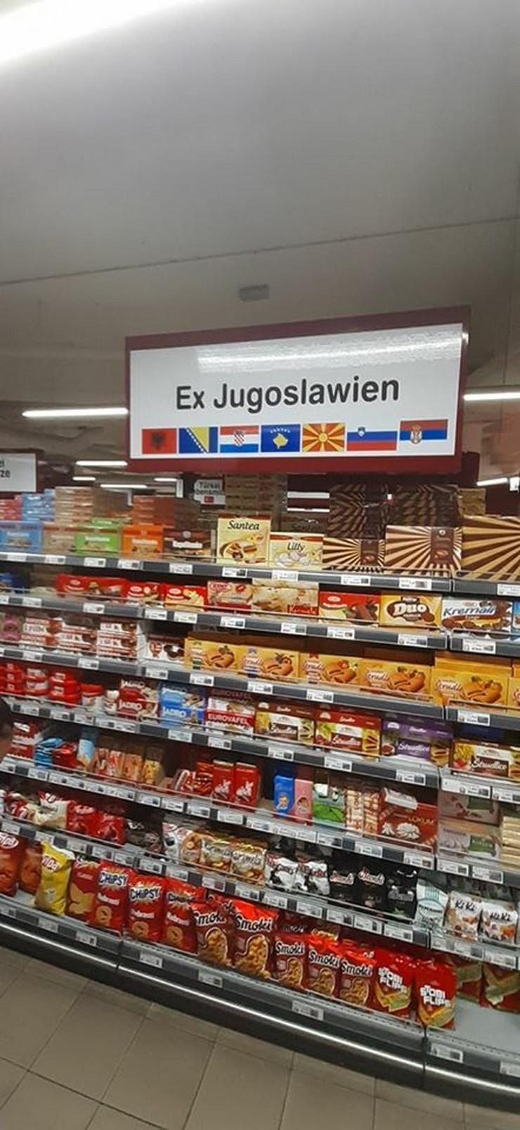 Prodavnica sa jugoslovenskim proizvodima