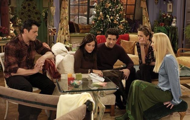 """""""Przyjaciele"""" - kadr z 9. sezonu"""
