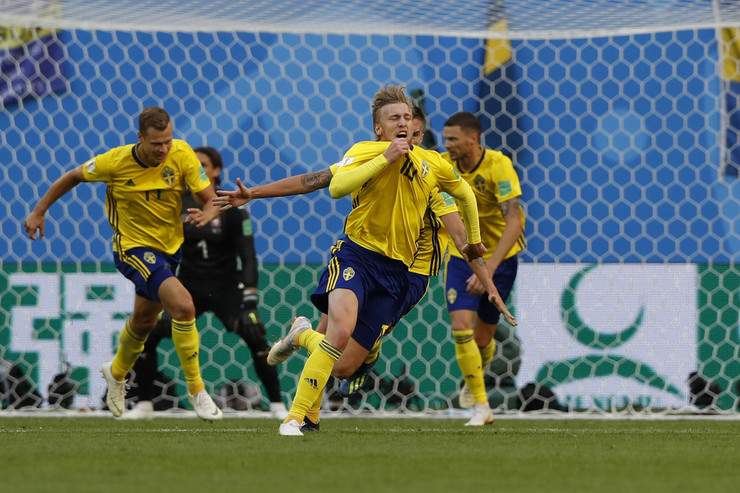 Fudbalska reprezentacija Švedske, Fudbalska reprezentacija Švajcarske