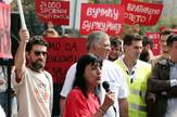Goša, Radnici, Protest, Vlada Srbije