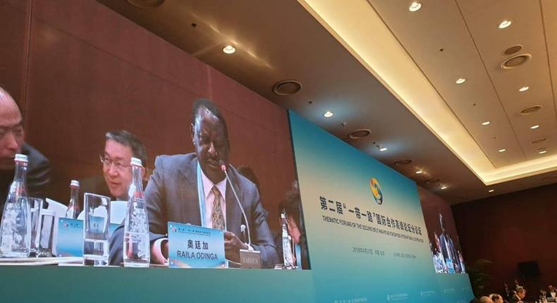 Raila Odinga excites followers with update on China trip meant to raise SGR loan