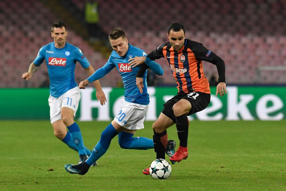 Champions League - Napoli vs Shakhtar Donetsk