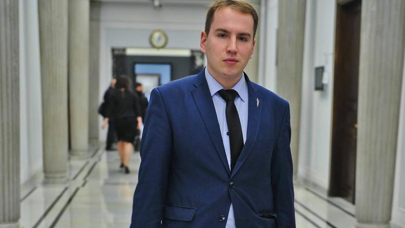 Poseł Kukiz'15 Adam Andruszkiewicz