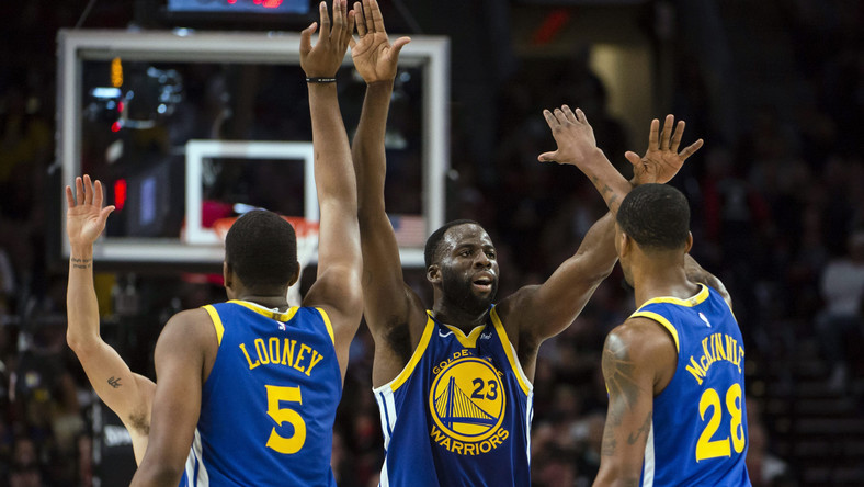 NBA Playoffs - Golden State Warriors znowu zagrają w finale po 4-0 z Blazers