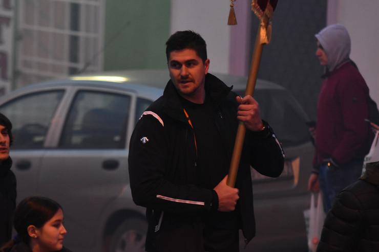Novi Sad litija moleban Darko Miličić