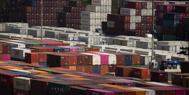 Američki izvoz - brodski kontejneri u Njujorku