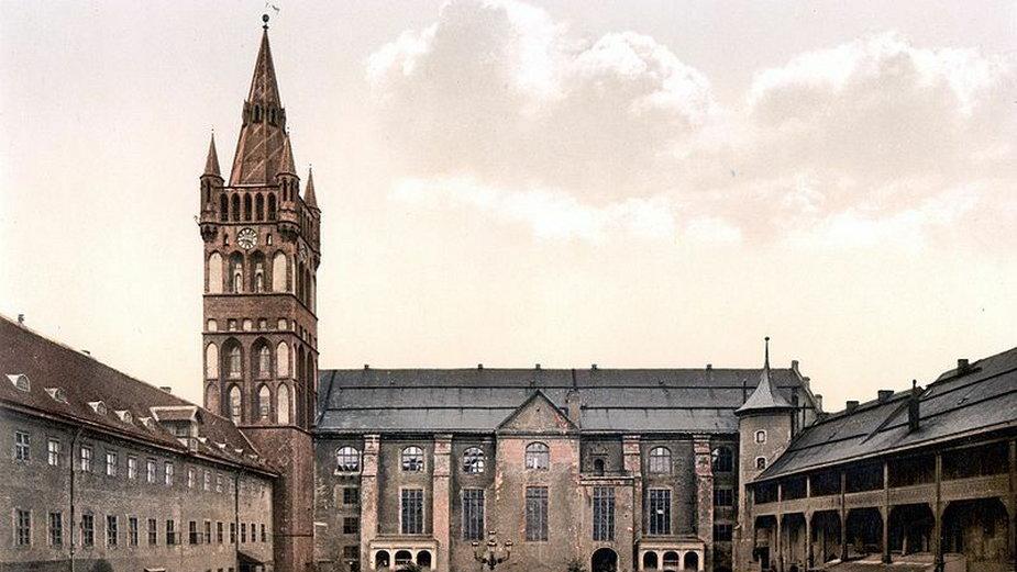 Zamek w Królewcu, siedziba wielkich mistrzów po utracie Malborka (domena publiczna)