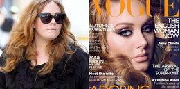 """Pulchna Adele gorzej sprzedała """"Vogue'a"""""""