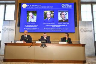 David Card, Joshua Angrist i Guido Imbens laureatami Nagrody Nobla w dziedzinie ekonomii
