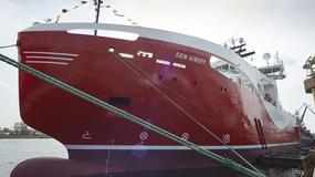 Remontowa Shipbuilding zbudowała najnowocześniejszy statek w Polsce