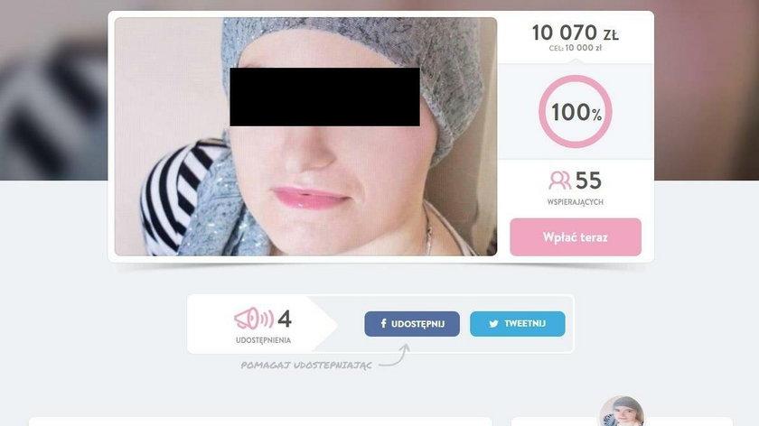 Udawała chorą na raka. Mogła wyłudzić fortunę!