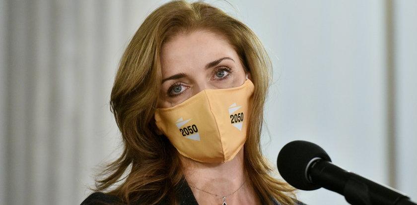 Joanna Mucha zakażona koronawirusem