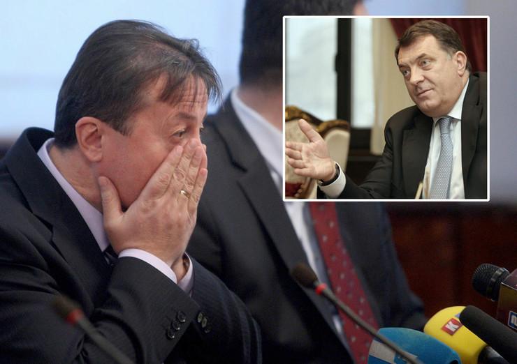 Dusko Snjegota Milorad Dodik